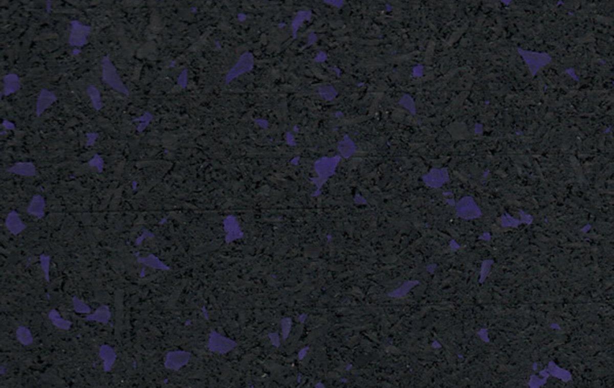 10% Purple Rubber Flooring
