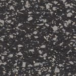 35% Lt Blue & Gray Rubber Flooring