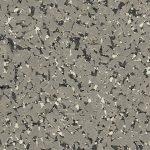 95% Grey, Black & White Rubber Flooring