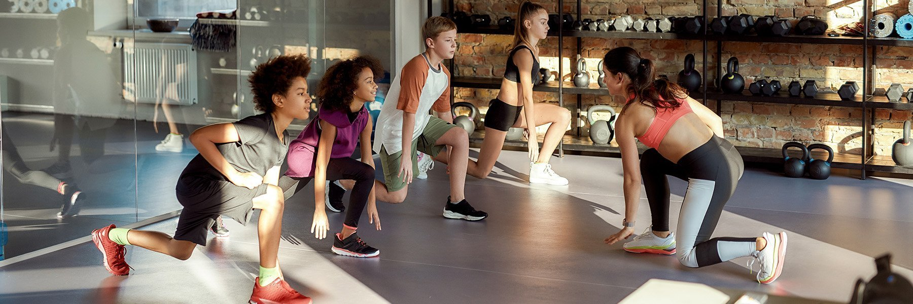 Rubber Fitness Flooring