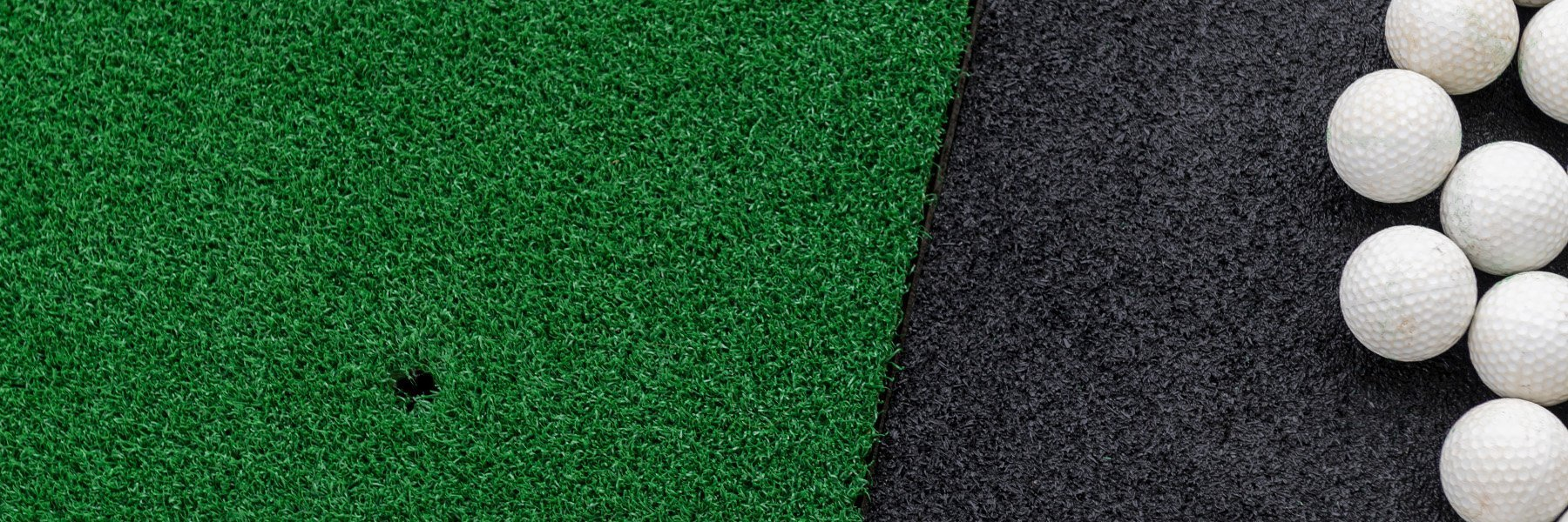 Non-Infilled Indoor Sports Turf for Golf Shops