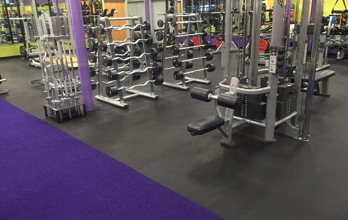 Rubber Flooring For Gyms