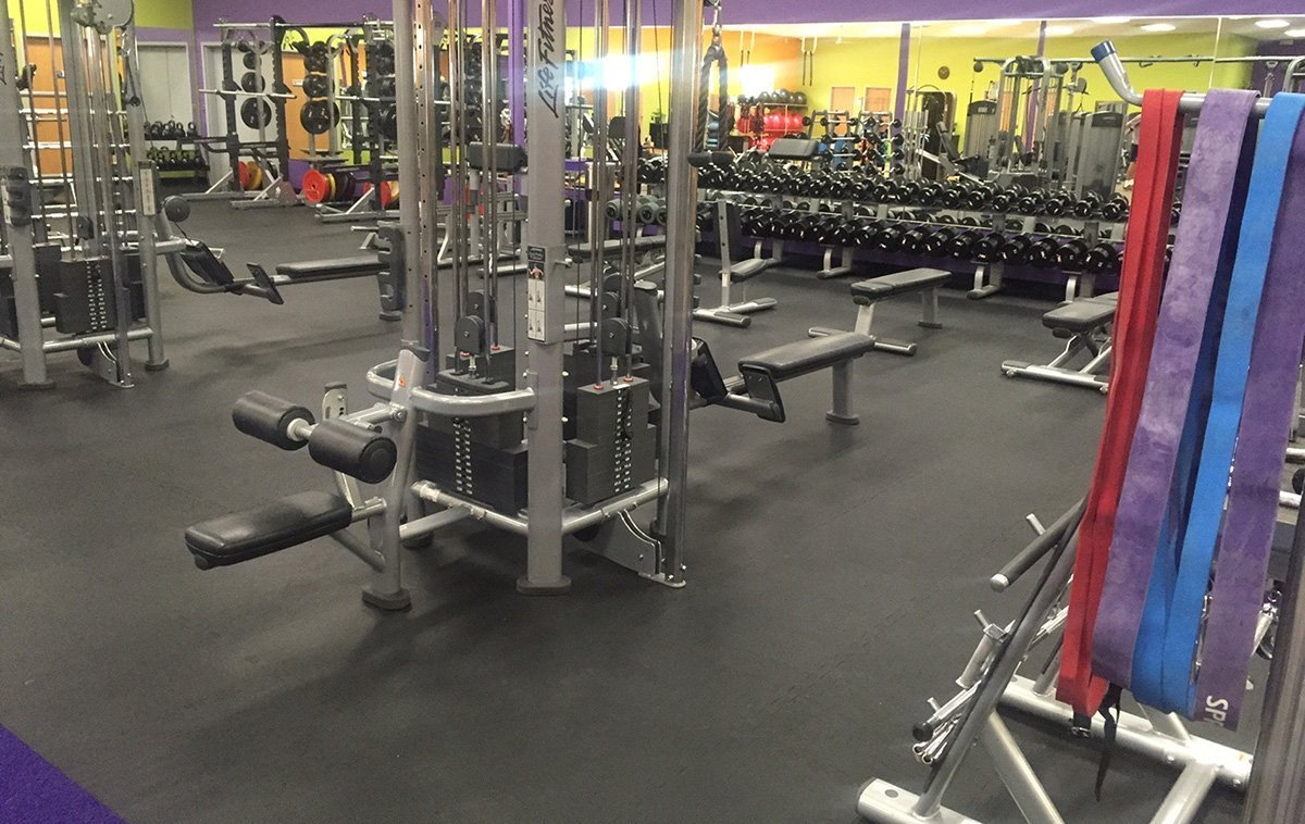 Rubber Flooring For Fitness Centers