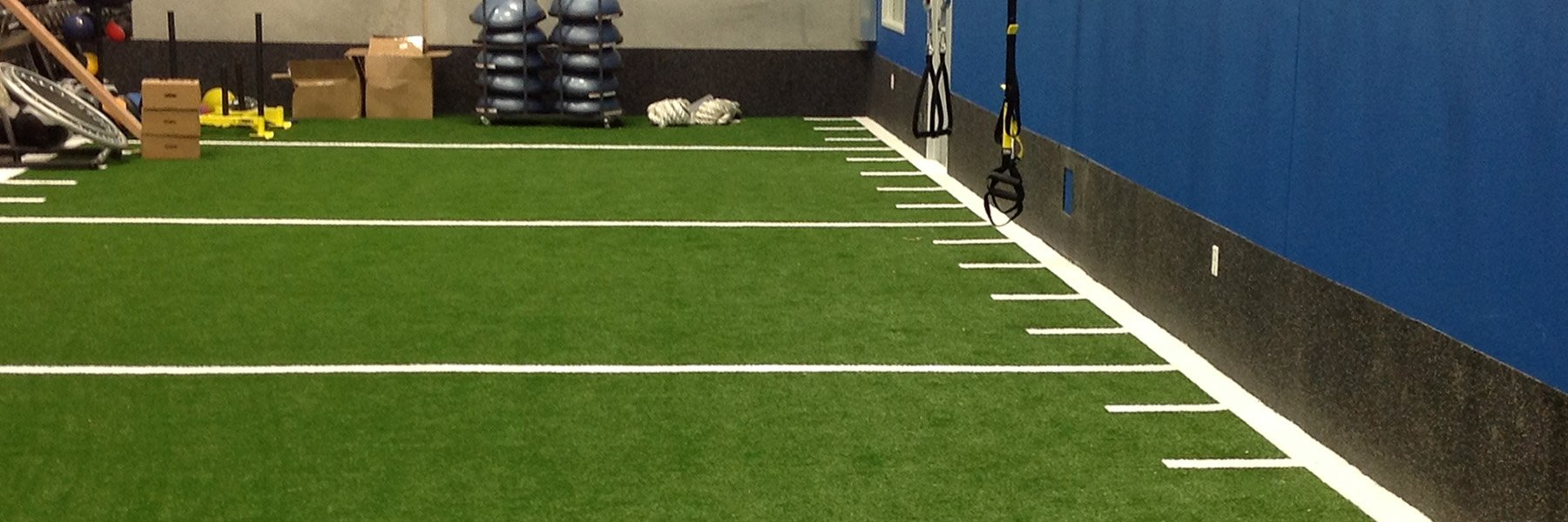 Non-Infilled Indoor Gym Turf