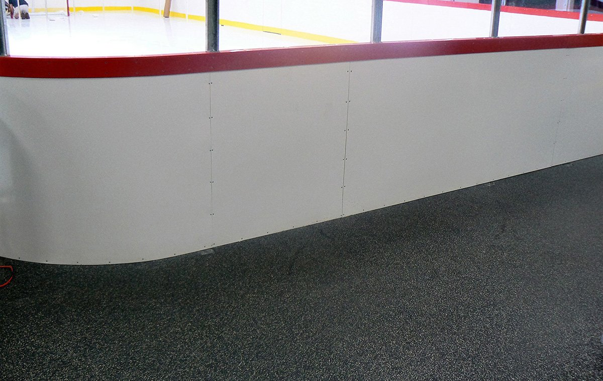 Recycled Rubber Ice Rink Flooring